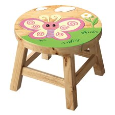 Safari Butterfly Kids Stool