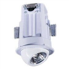 Ambiance® Miniature 360° Rotational Recessed Housing with Light in White