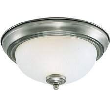 Serenity 3 Light 60W Flush Mount