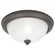 <strong>Sea Gull Lighting</strong> Del Prato 2 Light Flush Mount