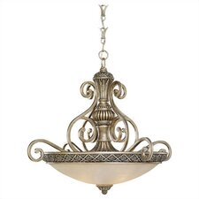 Highlands 3 Light Inverted Pendant