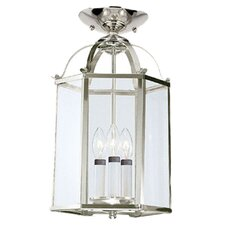 3 Light Foyer Pendant