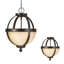 Sfera 2 Light Globe Pendant
