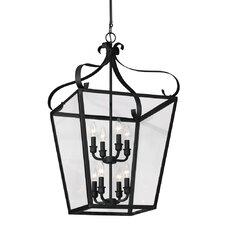 Lockheart 8 Light Foyer Lantern Pendant