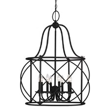 Turbinio 8 Light Foyer Lantern Pendant
