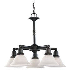 Sussex 5 Light Chandelier - Energy Star