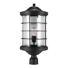 Sauganash 1 Light Outdoor Post Lantern