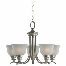 <strong>Sea Gull Lighting</strong> Wheaton 5 Light Chandelier