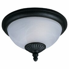 <strong>Sea Gull Lighting</strong> Yorktown 2 Light Outdoor Flush Mount