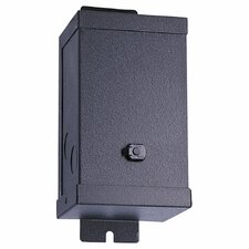 24V Magnetic Transformer in Powder Coated Black