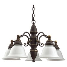 <strong>Sea Gull Lighting</strong> Canterbury 5 Light Chandelier