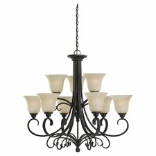 Del Prato 9 Light Chandelier