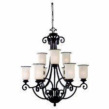 <strong>Sea Gull Lighting</strong> Acadia 9 Light Chandelier