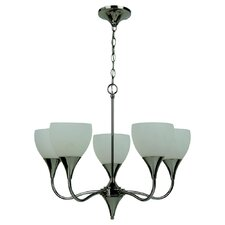 <strong>Sea Gull Lighting</strong> Solana 5 Light Chandelier