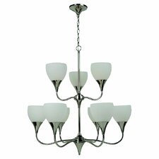 <strong>Sea Gull Lighting</strong> Solana 9 Light Chandelier