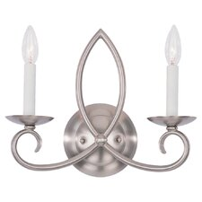 Pemberton 2 Light Wall Sconce