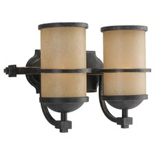 Roslyn 2 Light Wall Sconce