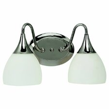 <strong>Sea Gull Lighting</strong> Solana 2 Light Bath Vanity Light