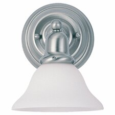 <strong>Sea Gull Lighting</strong> Sussex 1 Light Wall Sconce