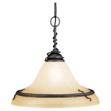 <strong>Sea Gull Lighting</strong> Saranac Lake 1 Light Pendant