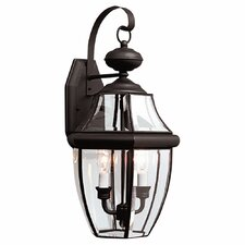 Classic 2 Light Outdoor Wall Lantern