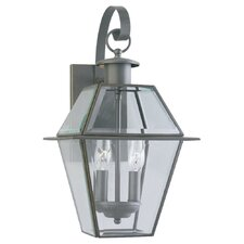 <strong>Sea Gull Lighting</strong> Colony 2 Light Outdoor Wall Lantern