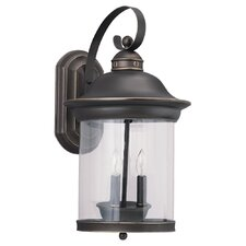 Hermitage 3 Light Outdoor Wall Lantern