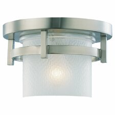 <strong>Sea Gull Lighting</strong> Eternity 1 Light Outdoor Flush Mount
