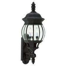 <strong>Sea Gull Lighting</strong> Winfield 3 Light Wall Lantern