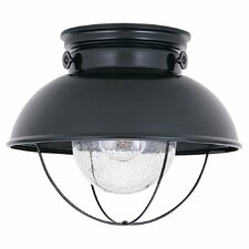 Sebring 1 Light Outdoor Flush Mount