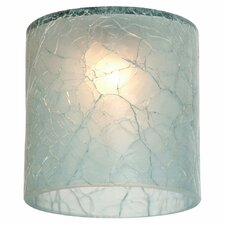 "2.22"" Ambiance Transitions Glass Pendant Shade"
