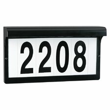 Light Address Plate