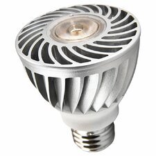LED Energy Star 8W 120V Par20 Med Base Bulb, 40 Degree Beam