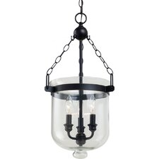 <strong>Sea Gull Lighting</strong> Westminster 3 Light Indoor Pendant