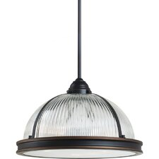 <strong>Sea Gull Lighting</strong> Pratt Street Prismatic 3 Light Pendant