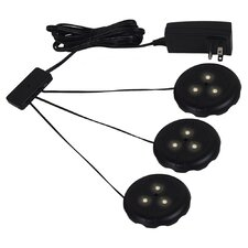 3 Light LED Disk Kit