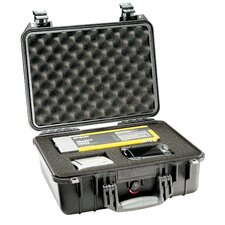 "Equipment Case with Foam: 13"" x 16"" x 6.88"""