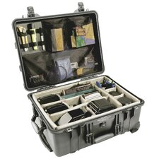 "Equipment Case with Foam: 22"" x 17.94"" x 10.44"""