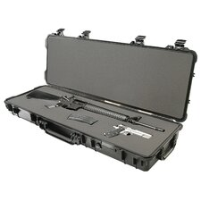 "Weapons Case with Foam: 16"" x 44.38"" x 6.13"""