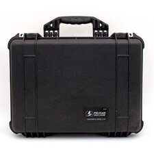 "Tool Case in Black: 15.44"" x 19.13"" x 7.56"""