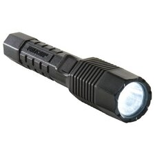 Dual Switch Rechargeable Tactical LED Flashlight w/ Battery Only (Black)