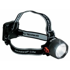 HeadsUp Lite LED/Halogen Flashlight (Black)