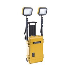 4 Head 12 Volt Battery LED Remote Area Lighting System Lantern