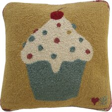 <strong>Susan Branch Home</strong> Cupcakes Square Pillow