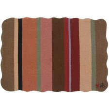 Yipes Stripes: 2' x 3' Multi-Colored Rug