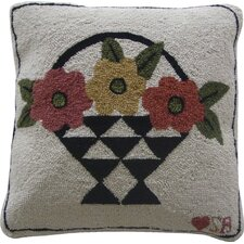 A Day For Flowers Square Pillow