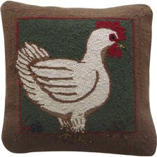 Fly the Coop Square Hen Pillow