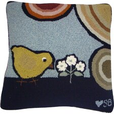 Baby Chicks Square Pillow