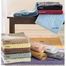 <strong>Simple Luxury</strong> Superior 900 GSM Egyptian Cotton 2-Piece Bath Mat Set