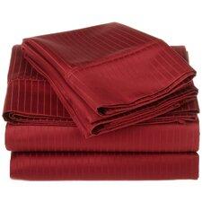 1000 Thread Count Egyptian Cotton Stripe Sheet Set